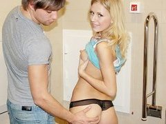 Hot and lecherous pick up girl