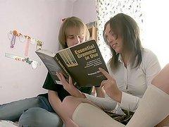 Sweet teen banged by her tutor