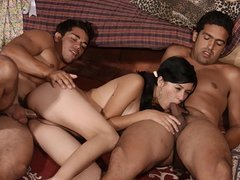 Teen Latina Tomasa Threesome