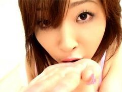 Junna Aikawa, Sucking Cock and Slurping Come