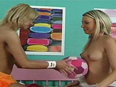 Lesbian ball game