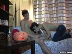 First anal sex on Halloween