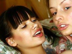 Nubile lesbo girls