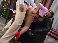 Maria&Monty amazing anal pantyhose video